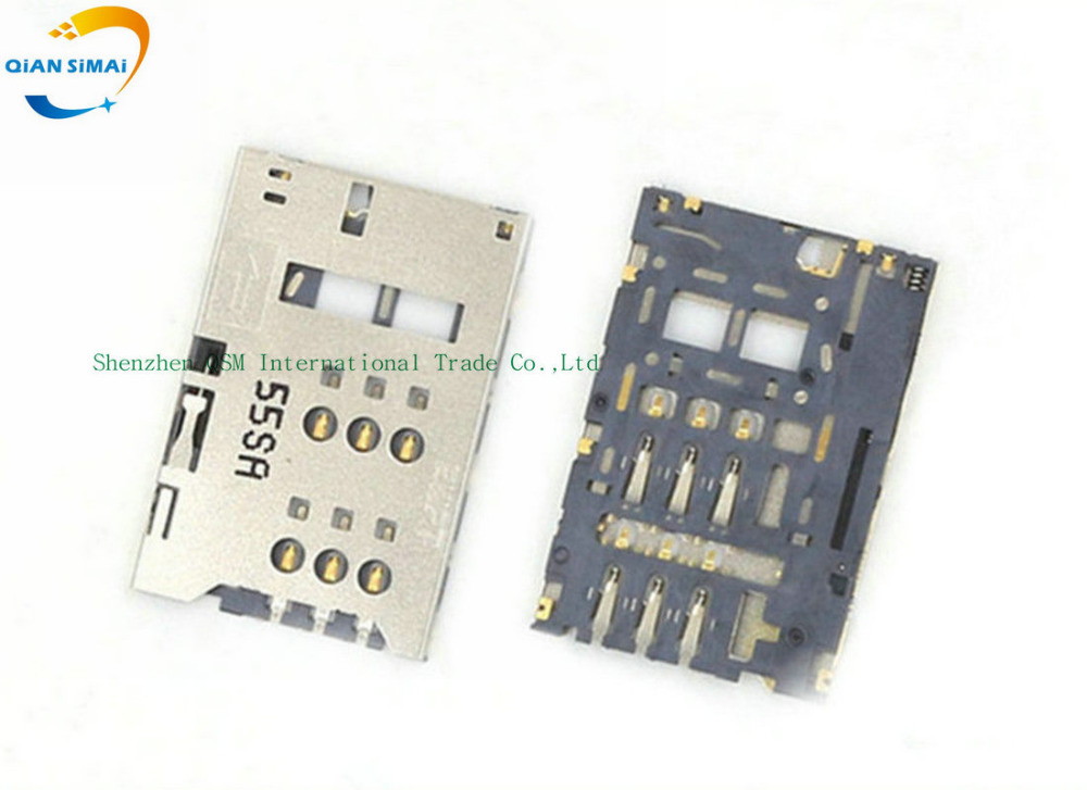 QiAN SiMAi New SIM Card Rreader Slot Holder for ZTE U9815 V988 N988 Mobile phone + DropShipping