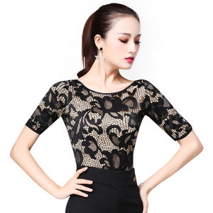 d2cc8865429af3 sexy lace tops for women latin dancing Standard Dance wear