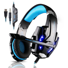 Gaming Headset Gamer 3.5mm Game Gaming Headphone Headset Earphone With Mic LED Light For Laptop Tablet / PS4 / Mobile Phones