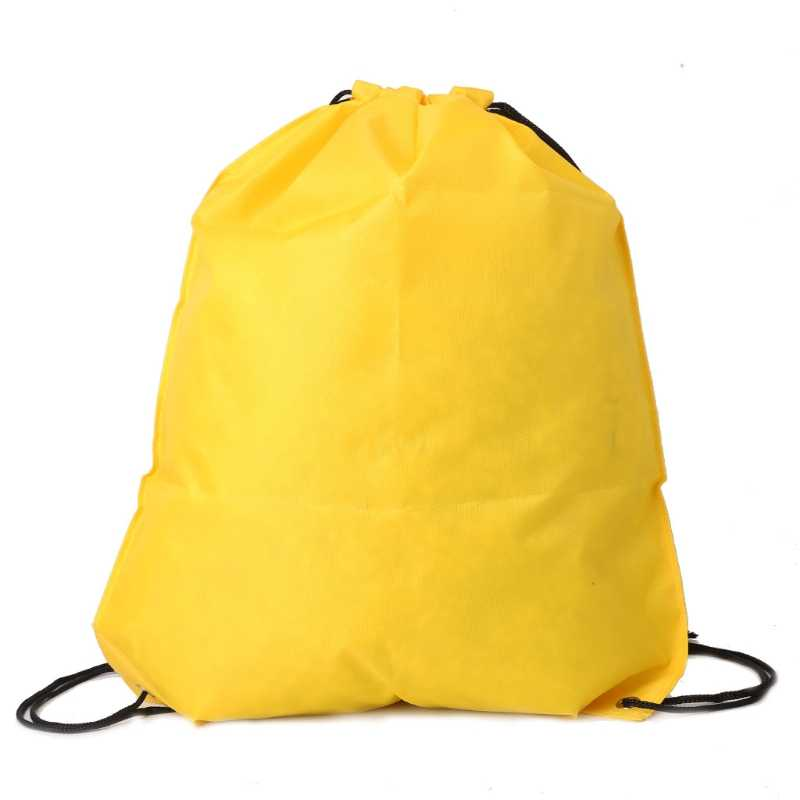 Hot Backpack Shopping Drawstring Cinch Sack Waterproof Travel Beach Pack Fashion New Style Bag High Quality
