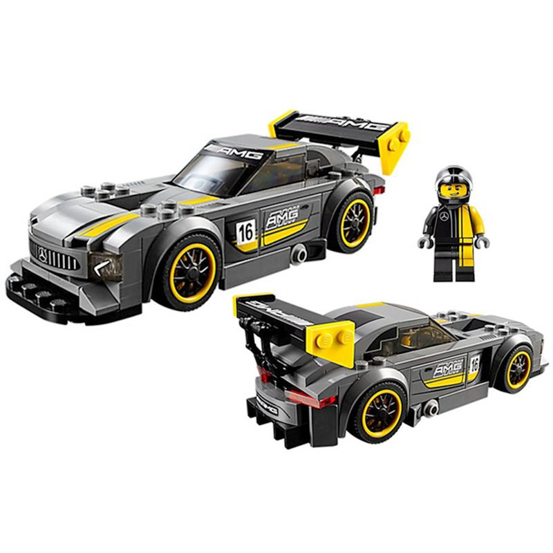 L Models Building toy Compatible with Lego L28003 211Pcs Speed Champions Blocks Toys Hobbies For Boys Girls Model Building Kits