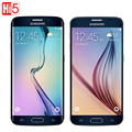 Оригинальный Samsung Galaxy S6 Edge G925F/S6 G920F Открыл мобильный телефон Octa Ядро 3 ГБ RAM 32 ГБ ROM LTE WCDMA 16MP 5.1 дюймовый