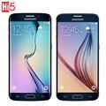 Original samsung galaxy s6 edge g925f/s6 g920f abrió el teléfono móvil LTE Octa Core 3 GB RAM 32 GB ROM WCDMA 16MP 5.1 pulgadas