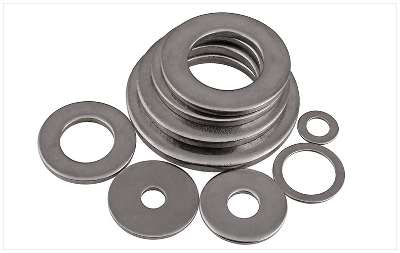 GB97 304 stainless steel washers flat washer meson M10 M12 M14 M16 M18 M20 M22 M24 M27 M30 washer pad Metal flat washers m10 m12 m10 14 0 5 m10x14x0 5 m12 16 0 5 m12x16x0 5 id od thickness 2 304 stainless steel ss din125 washers plain plat washer