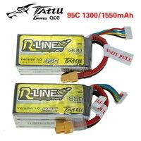 Tattu 1300mAh 1550mAh 4S 95C 14 8 V Through Battery