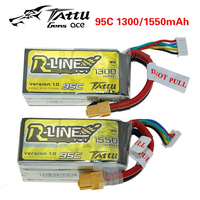 Tattu 1300mAh 1550mAh 4S 95C 14 8 V Through Battery