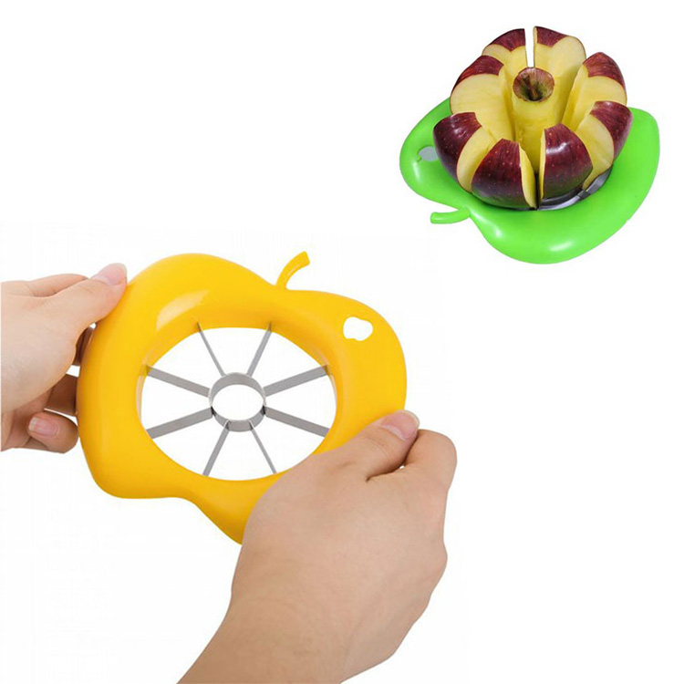 Convenient Kitchen Gadget Apple Fruit Corer Stainless Steel Slicer Peeler Cookin