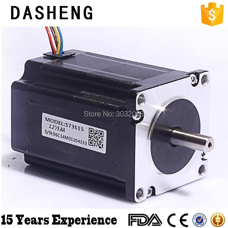laser engraving machine stepper motor 3 phase Stepper Motor 573S15 nema34 3 5nm 500oz in 2ph 2 8a d 9 5mm stepper motor 86hs35 laser machine