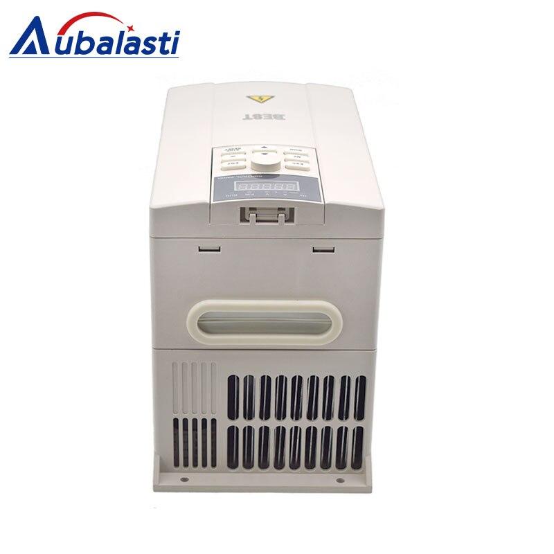 Beste Inverter 0.75kw 1.5KW 2.2KW 3KW 4KW 5.5KW 7.5KW 11KW eingang 3 Phase AC380V verwenden für cnc spindel 750 watt 1.5kw 2.2kw 5.5kw 7.5kw