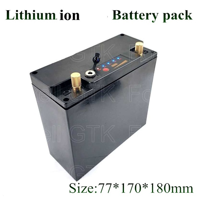 Lithium Car Battery >> Us 94 0 12v 20000mah 20ah Large Capacity Lithium Battery Golf Battery Sightseeing Car Battery Electric Vehicle Battery 15a Current Bms In