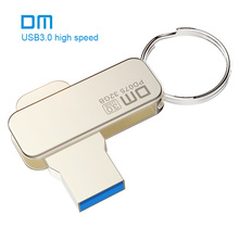 Free shipping DM PD075 NEW 16GB 32GB 64GB USB Flash Drives Metal USB 3.0 High-speed Pen Drive Write From 10mb/s-60mb/s