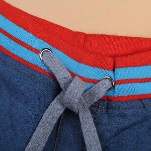 Image 5 - Bambino Ragazzo Jean Insiemi Dei Vestiti Dei Bambini di Polo Shirt + Short di Jeans Dei Ragazzi del Vestito di Abiti Per Bambini Abbigliamento Casual Infantile Dei Vestiti della Mutanda 2 7Year