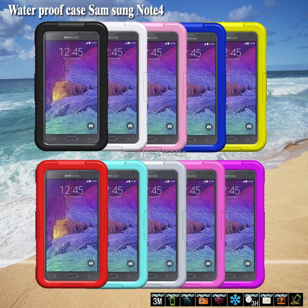 imágenes para IP68 A Prueba de agua Resistente A Prueba de Golpes Cubierta Del Teléfono Caso de La Piel para Samsung Galaxy Note 3/Galaxy Nota 4 Nota Edge