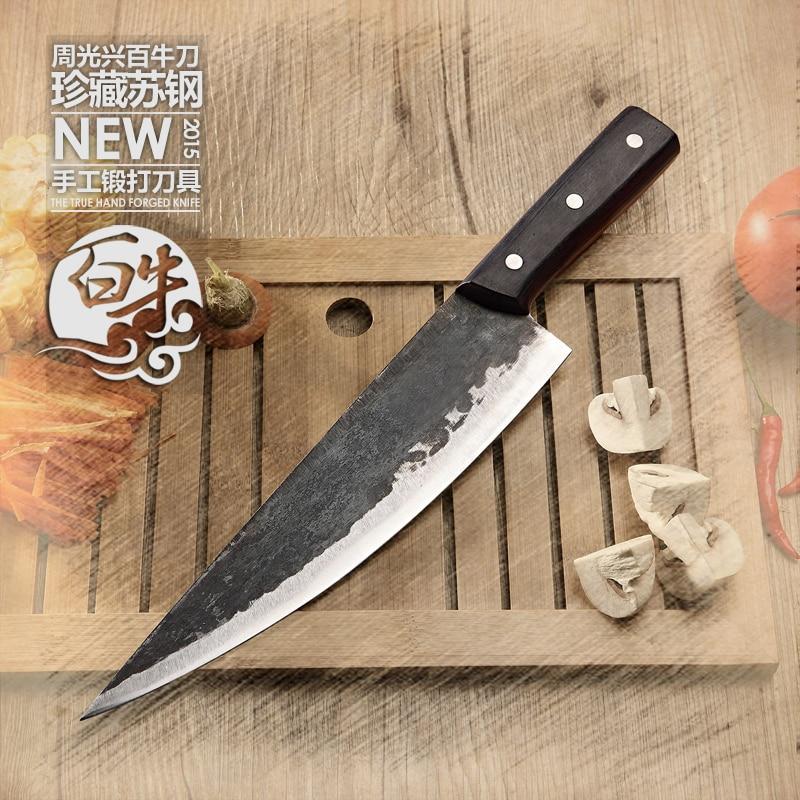 Hochwertige handgefertigte Clip Stahl Knochenmesser Western - Küche, Essen und Bar - Foto 1