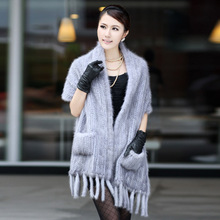 EASTERN FUR 2014 mink cape marten overcoat handmade ultra long fur coat a-0552