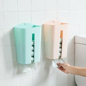 Wall-mounted Garbage Bag Conta