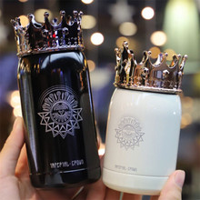 OUSSIRRO Crown Theme Thermos cup Mugs Cartoon MultiColor Vacuum Flasks Kitchen Tool Gift X-Mas Gift