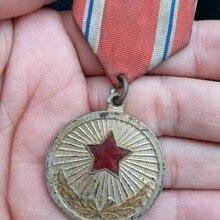 Медаль за заслуги в Северной Корее, натуральная медаль, оригинальная коллекция