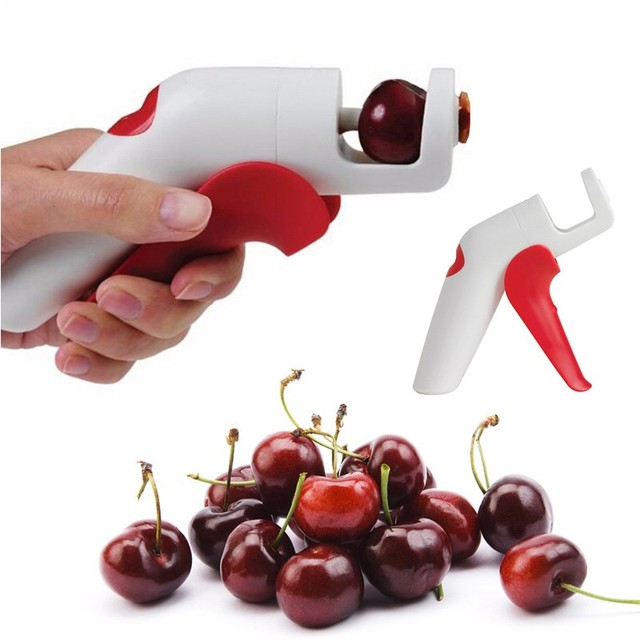 New Practical Easy Cherry Core Seed Cherry Pitter Remover Machine New Fruit Nuclear Corer Novelty Kitchen Tools  Gadgets Gift