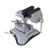 Delicate Universal Vise Aluminum 360 Degrees Swivel Base Table Bench Vise Vice With Vacuum Chuck Clamp