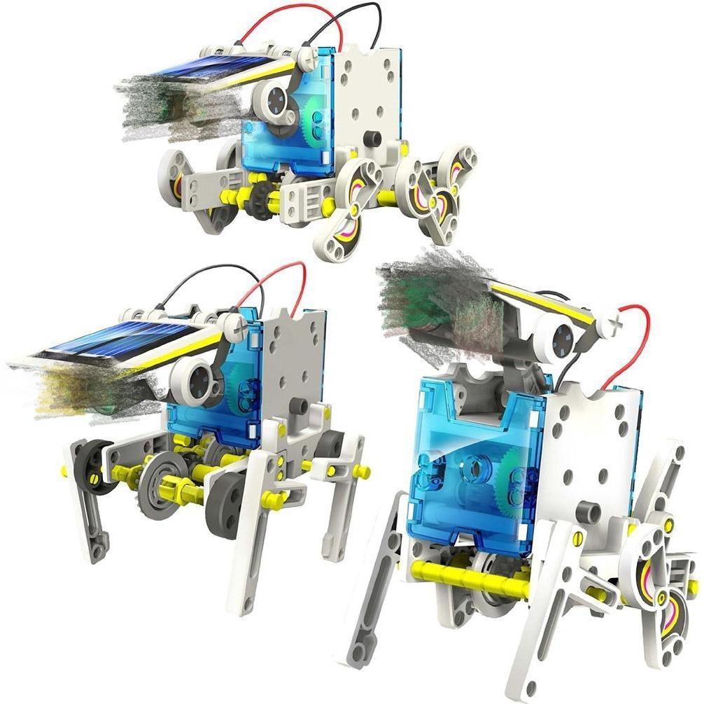 Solar Toy 13 in 1 Solar Robot Kit Educational Robot DIY ...