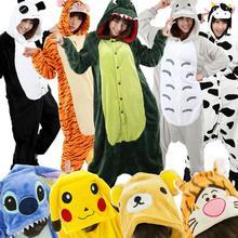 pikachu panda stitch ahri adults pajamas pyjamas anime cosplay costumes adult cartoon animal onesies sleepwear cheep one piece