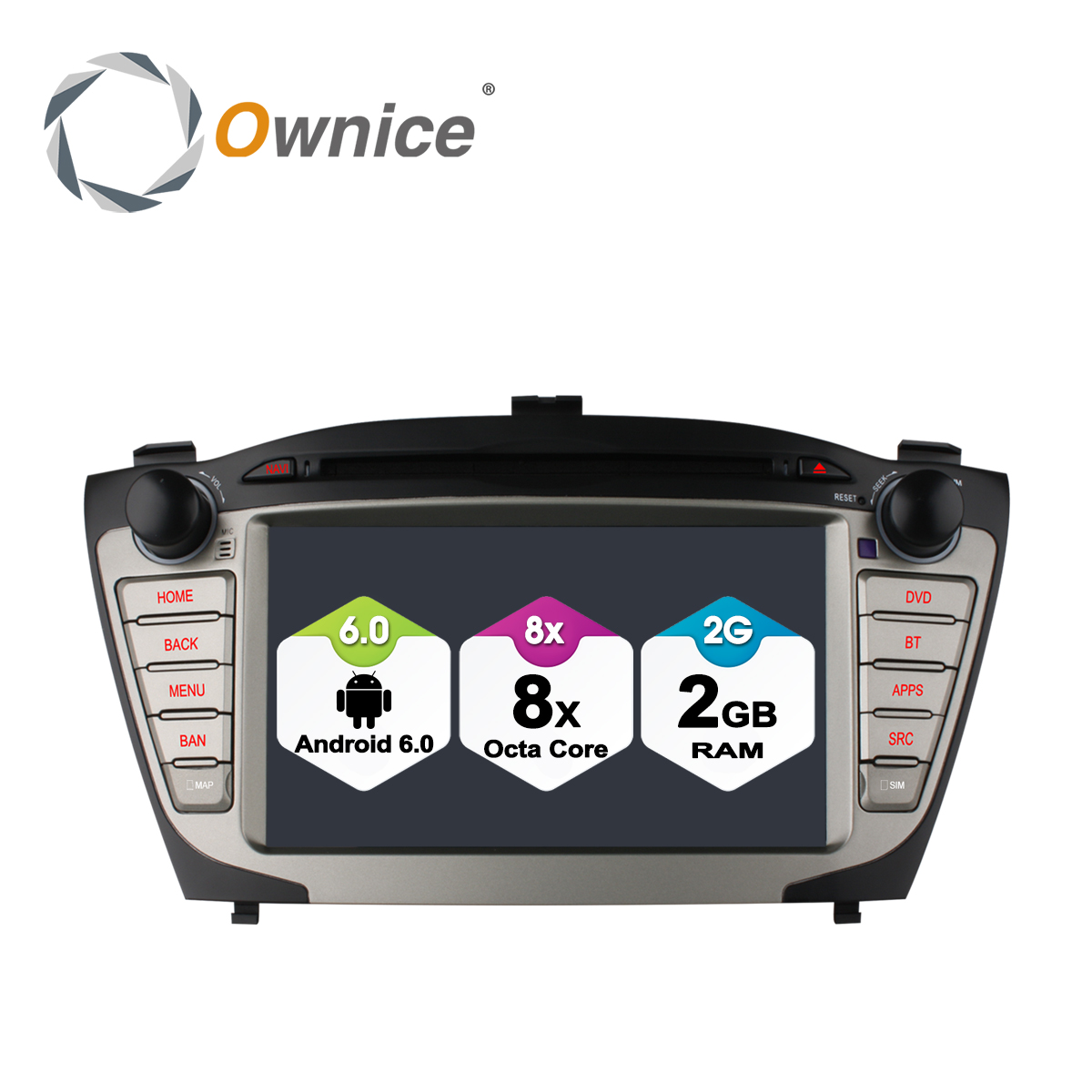Ownice C500 Android 6 0 Octa 8 Core Car video For HYUNDAI IX35 Tucson car dvd aliexpress com buy ownice c500 android 6 0 octa 8 core car video  at gsmx.co