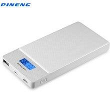 PINENG PN 993 10000 mAh Energienbank QC 3,0 Schnelle Ladegerät Dual Ausgabetyp C Micro usb eingang Externe Bewegliche ladegerät