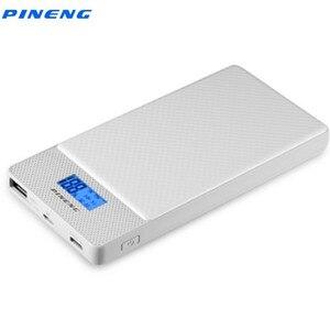Image 1 - Pineng carregador rápido PN 993 10000mah, qc 3.0, micro usb externo portátil, saída dupla carregador de carregador