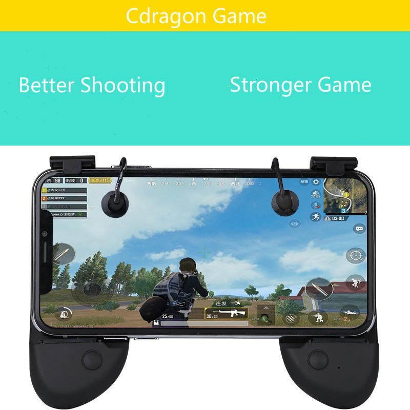 Cdragon Phone Gamepad Trigger Fire Button Aim Key Smart phone Mobile Ga