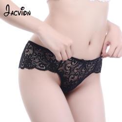 Сексуальные женские трусики нижнее белье Для женщин кружевные прозрачные трусы Дамы среднего роста женские бесшовные трусики нижнее