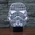 Magical Optical Illusion 3D Decoration Atmosphere Lamp Micro USB Table Glowing Light Novelty