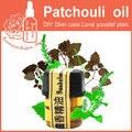 Free shopping 100% puro óleos essenciais de patchouli, índia importado planta 2 ml de cuidados da pele