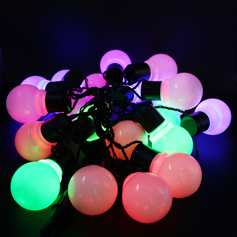 10M 38 LED Christmas Light Novelty 5CM Big Ball LED String