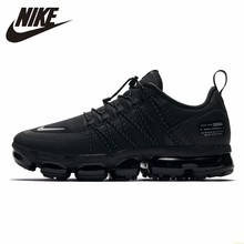 Nike Air Vapormax Run Utility Official Men Running Shoes Utility Shock Absorption Comfortable Breathable Sneakers #AQ8810-003