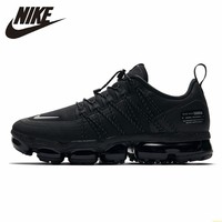 Nike Air Vapormax Run Utility Official Men Running Shoes Utility Shock Absorption Comfortable Breathable Sneakers #AQ8810 003