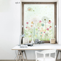 Custom Size Decorative Window Film Static Translucent Privacy Frosted No Glue Waterproof Explosion proof Bedroom Bathroom