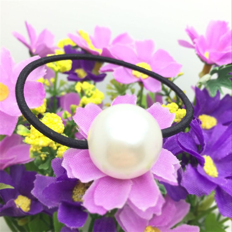 1PCS Artificial pearls Hair Accessories For Women Headband,Elastic Bands For Hair For Girls,Hair Band Hair Ornaments For Kids