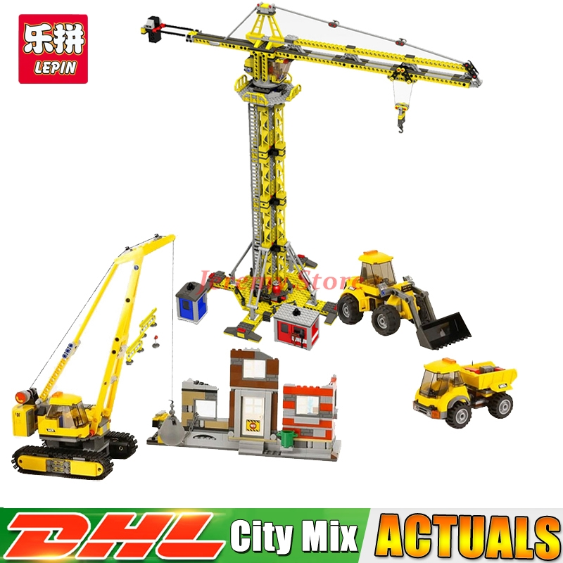 Lepin City Series 02042+02069 Educational Building Blocks Bricks Model Toys For Children Christmas Gifts Clone 60076 7905 a toy a dream lepin 02043 718pcs building blocks bricks new genuine city series airport terminal toys for children gifts