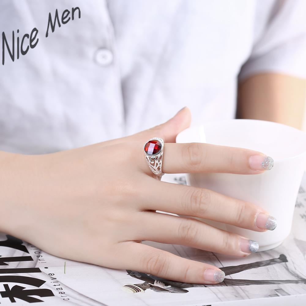 Red crystal classic 2016 fashion nail wear R734 8 Silver new design ...