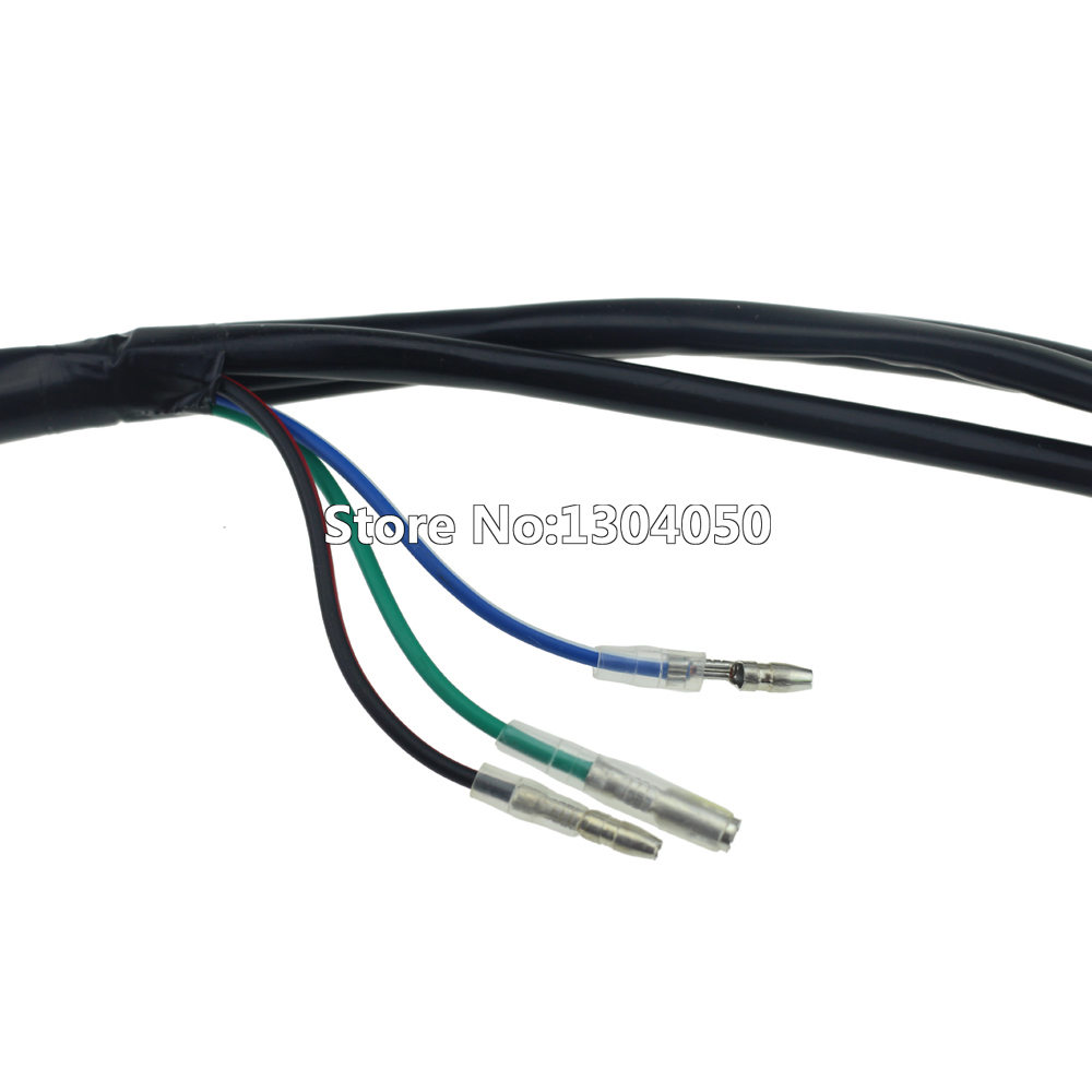 hight resolution of wire loom wiring harness 50cc 70cc 90cc 110cc 125cc atv quad dirt bike buggy go kart in motorbike ingition from automobiles motorcycles on aliexpress com