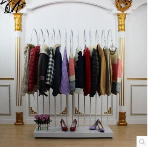 Hang Clothes On Wall aliexpress : buy standing clothing rack side against the wall