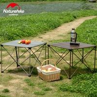 Naturehike новый открытый стол складной походный Пеший Туризм Пикник алюминиевого сплава прочный складной стол 2 размера nh0296