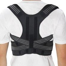 New Adjustable Posture Corrector Back Support Shoulder Lumbar Brace Corset Belt for Child Women