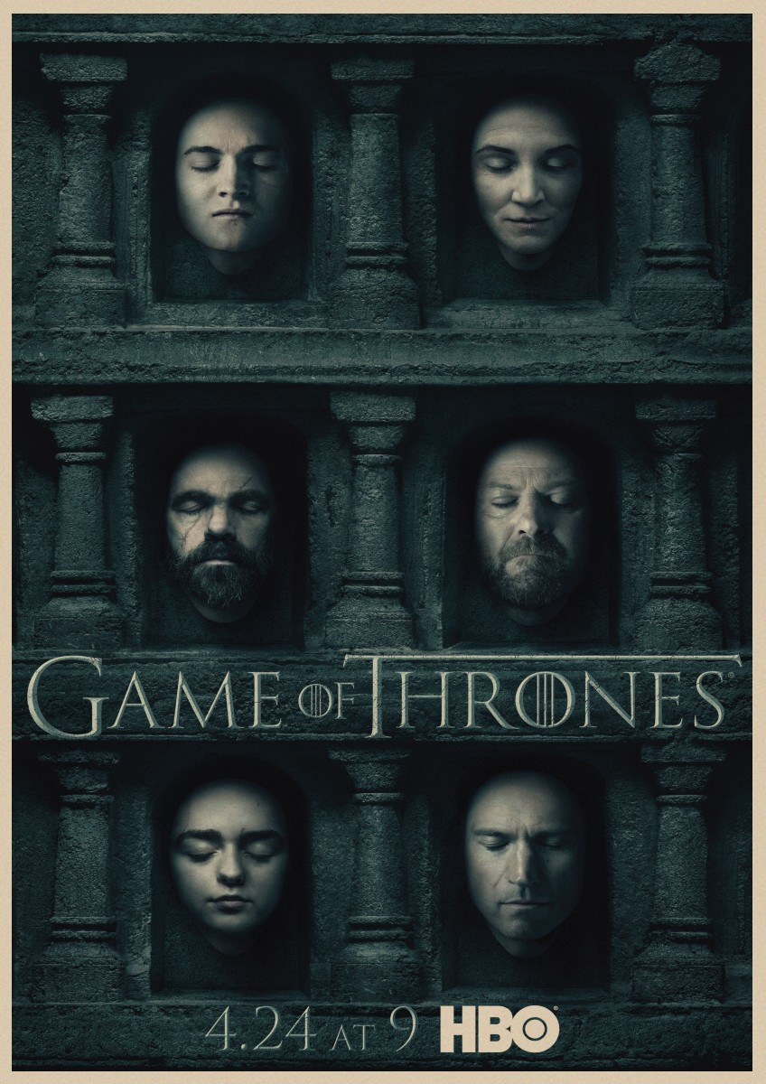 Art Print Poster Canvas Game Of Thrones Season 6 All Characters