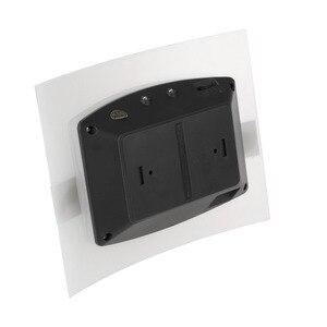 Image 5 - LED ضوء الليل الألومنيوم حالة إضاءة المنزل مشرق LED مصابيح بمستشعرات حركة المنشط اللاسلكية الجدار مصباح الشمعدان البطارية بالطاقة