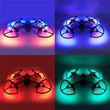лучшая цена LED Propeller Guards Integrated with Landing Gears Stabilizers for DJI MAVIC 2 PRO & ZOOM Drone Accessory