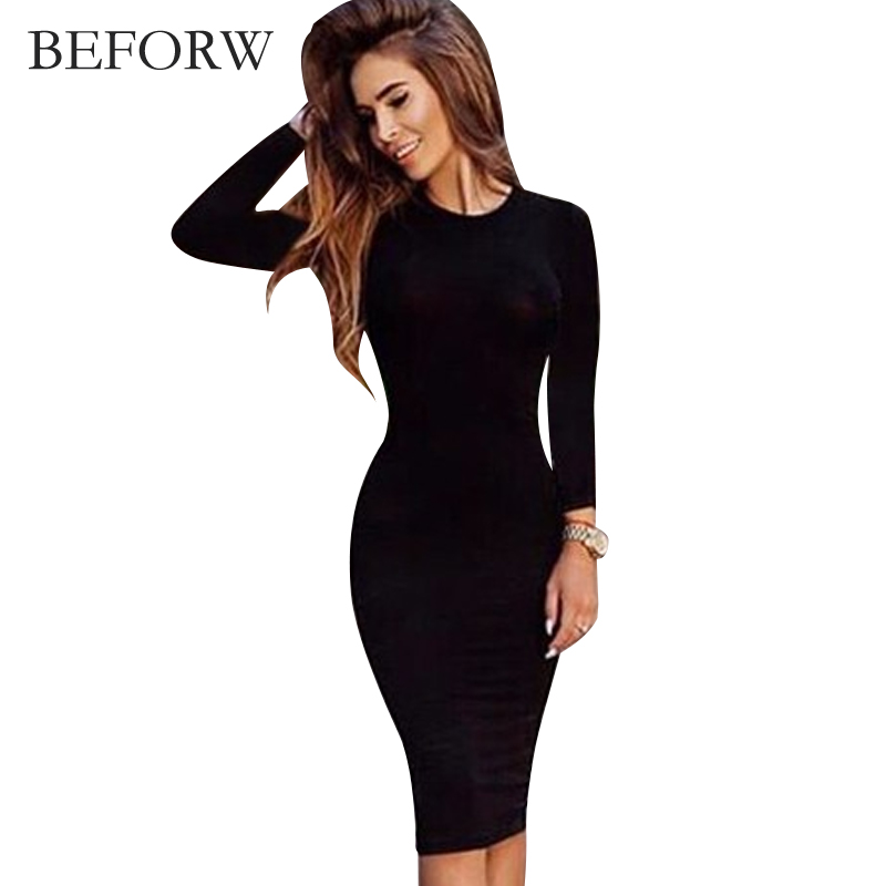 Online Get Cheap Korean Office Dress Black Aliexpress Com