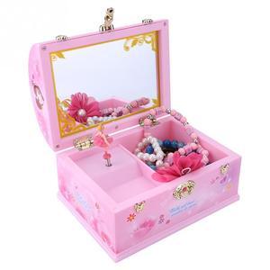 Pink Lovely Music Box Chest Sh