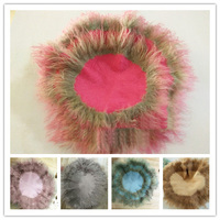65*65CM Pure Wool Filler Cushion Blanket Newborn Photography Background Props Studio Photos Aided Modeling Filler Basket Stuffer